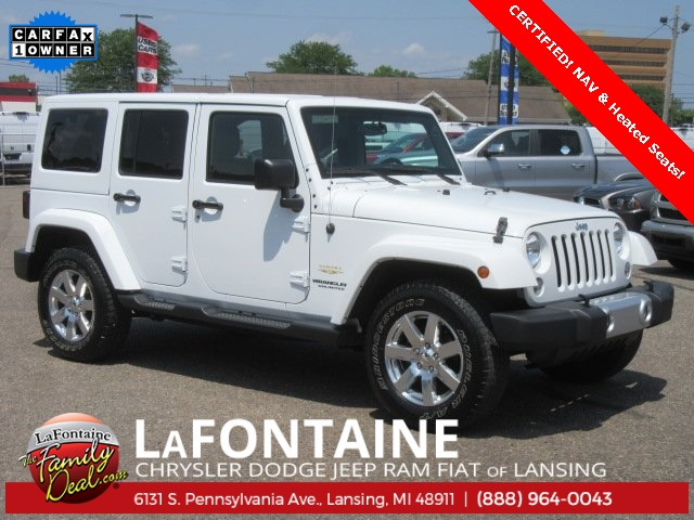 certified pre owned 2015 jeep wrangler unlimited sahara 4d sport
