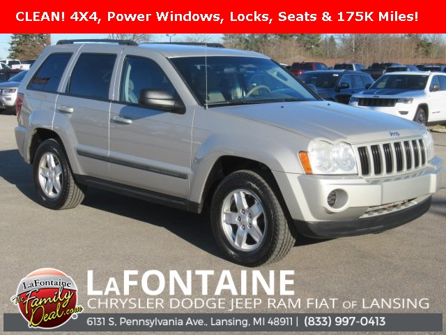2007 Jeep Grand Cherokee Laredo >> Pre Owned 2007 Jeep Grand Cherokee Laredo 4wd
