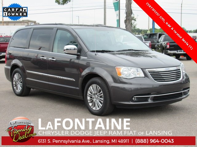 Certified Pre Owned 2015 Chrysler Town U0026 Country Touring L