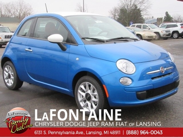 new 2017 fiat 500 pop hatchback in lansing 17l1216 lafontaine