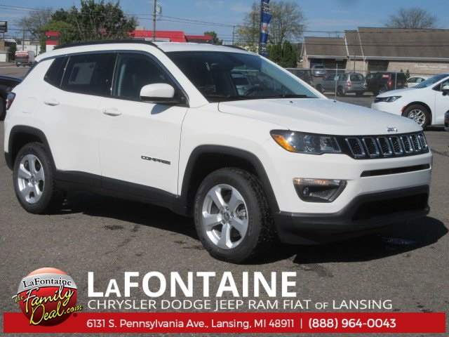 New 2018 Jeep Compass Latitude Sport Utility in Lansing 18L0147