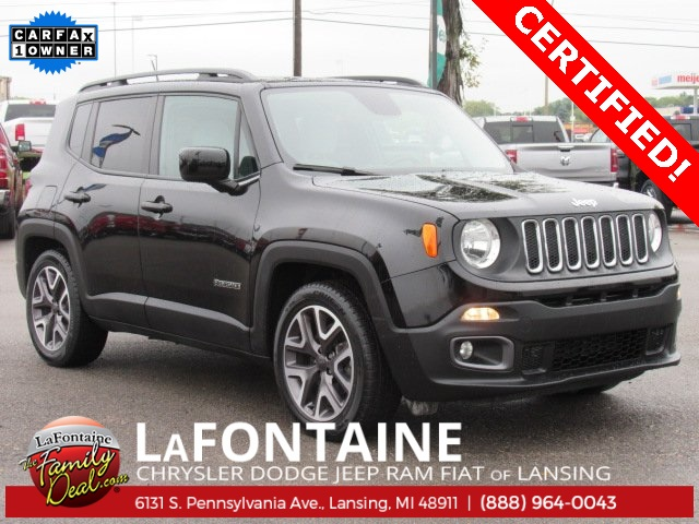 Certified Pre Owned 2015 Jeep Renegade Latitude